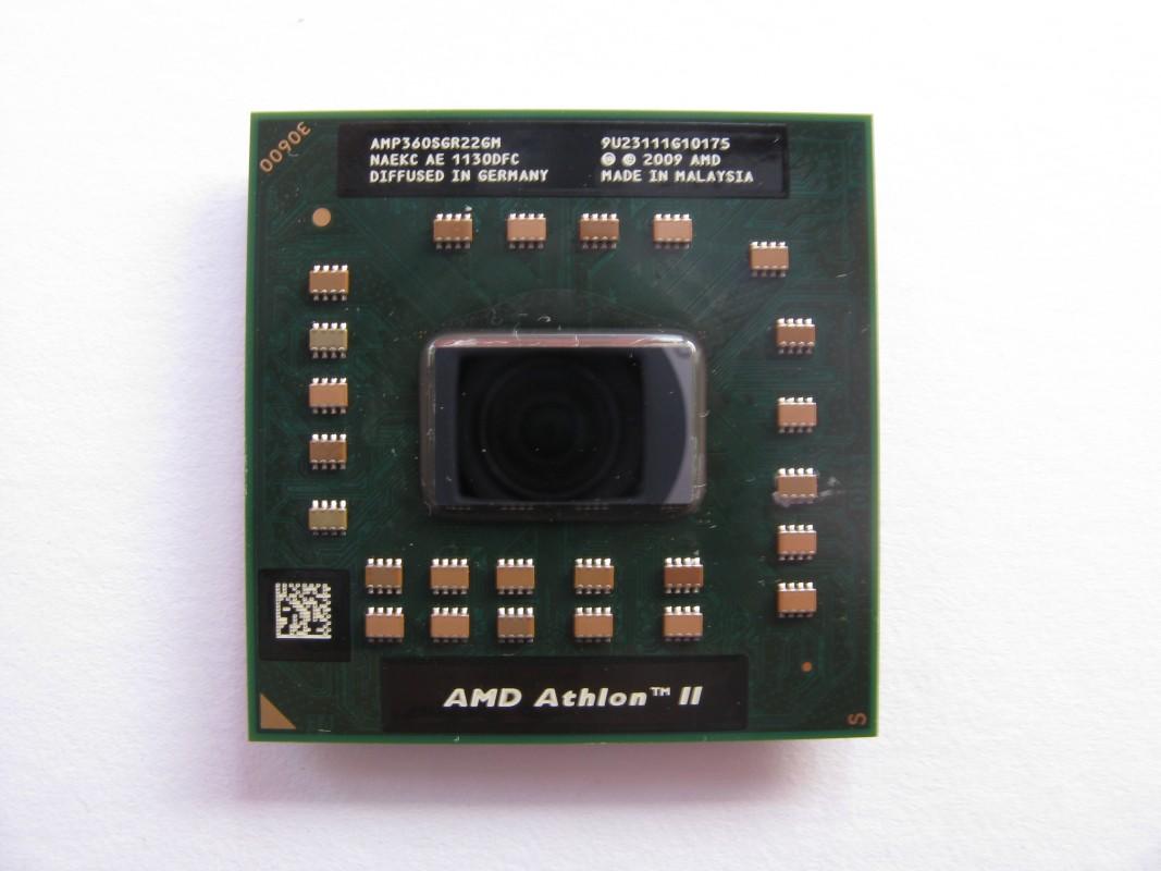 AMD Athlon II Dual-Core Mobile P360, 2.3GHz