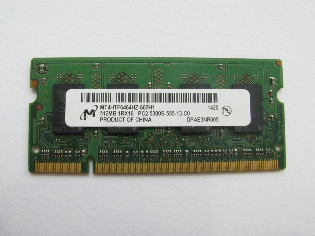 512MB DDR2 667MHz