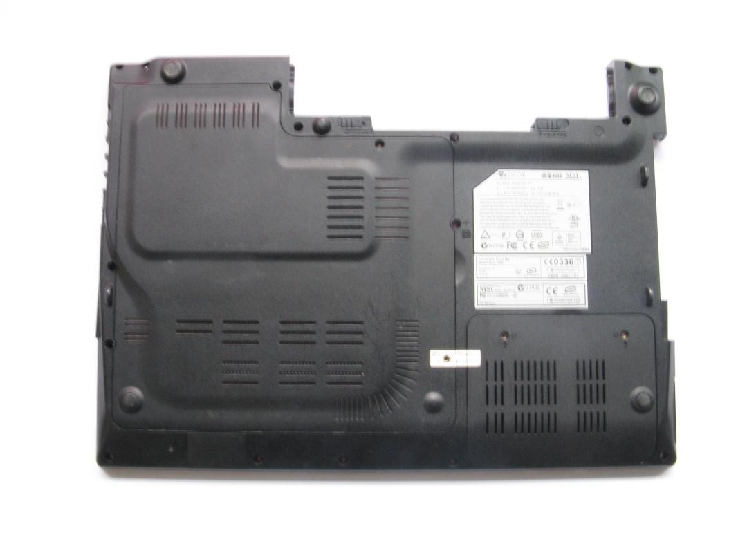 Spodní kryt pro MSI GX620x