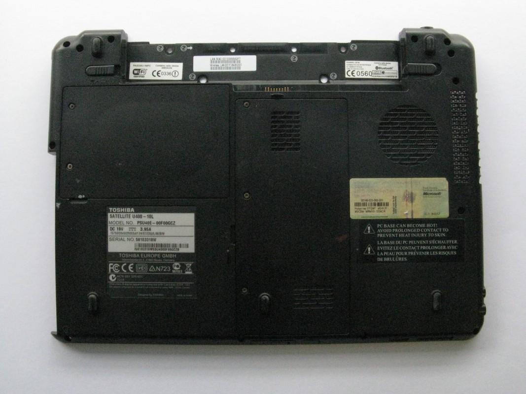 Spodní kryt pro Toshiba Satellite U400-10L