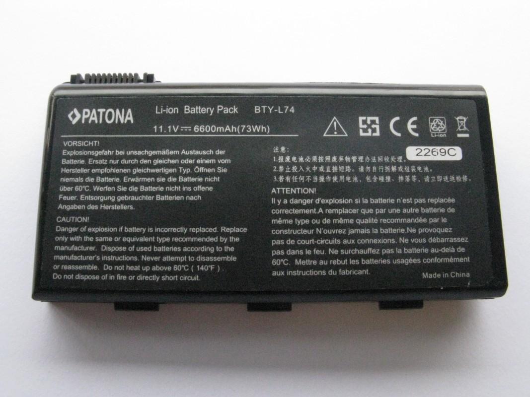 Baterie pro MSI CR700X