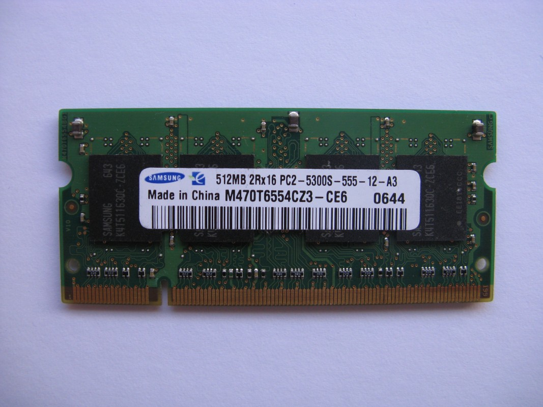 512MB DDR2 667 MHz