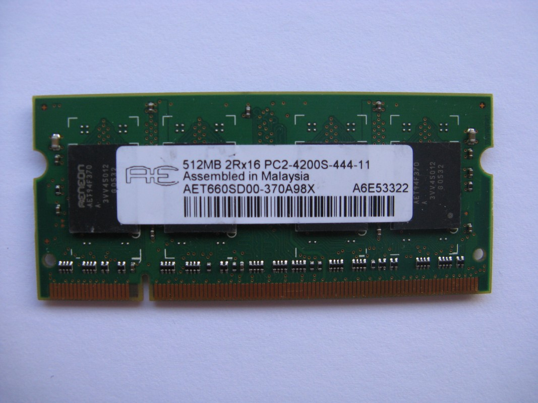 512MB DDR2 533 MHz