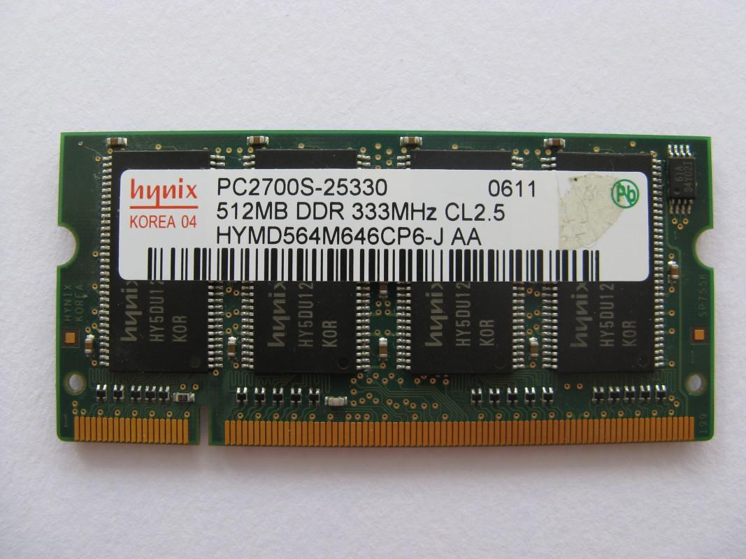 Hynix 512MB DDR 333MHz