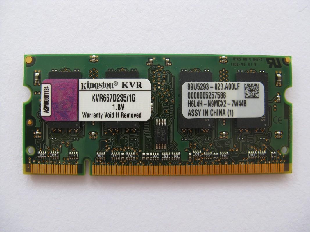 Kingston 1GB DDR2 667MHz