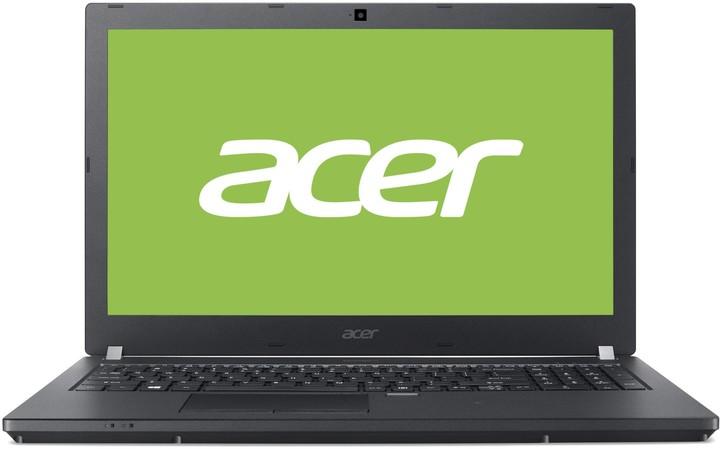 """ACER NTB TMP449-M-35L0 – i3-6100U@2.3G,14"""" FHD mat,4GB,256GB SSD,čt.pk,intel HD, BT, 4čl, HDcam, W10P, černý NX.VDKEC.001"""