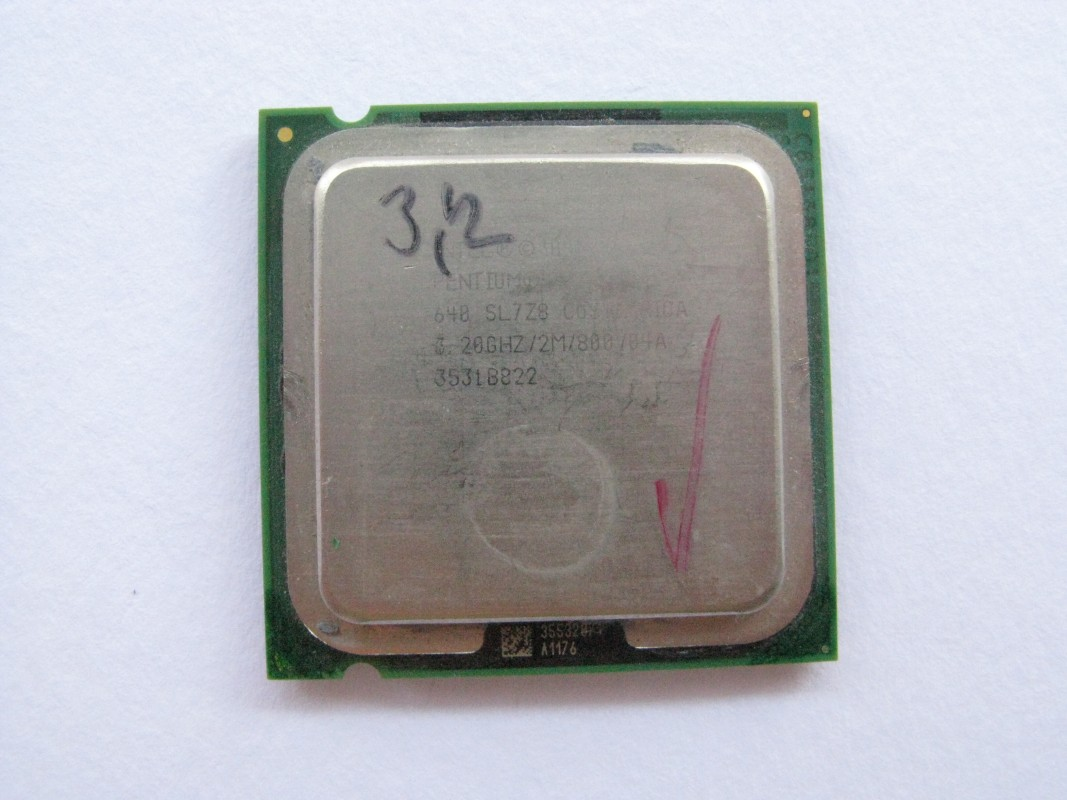 Intel Pentium 4 640, 3.2GHz