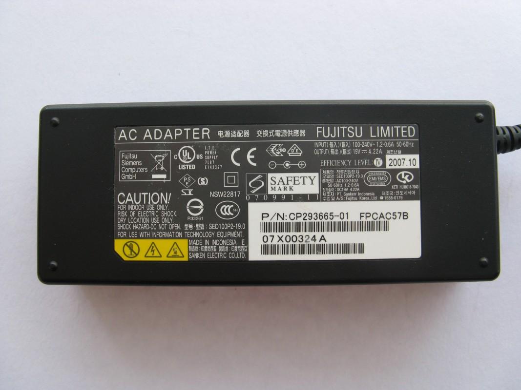 Napájecí adaptér Fujitsu 80W
