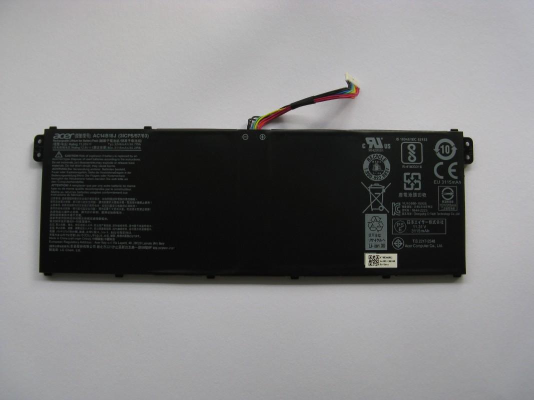 Baterie pro Acer Aspire ES15 (ES1-533-C0V8), NOVÁ NX.GFTEC.011