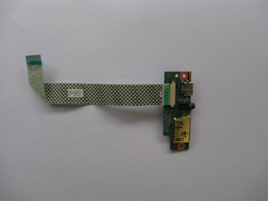 USB a audio konektory pro Acer Aspire ES15 (ES1-533-C0V8), NOVÉ NX.GFTEC.011