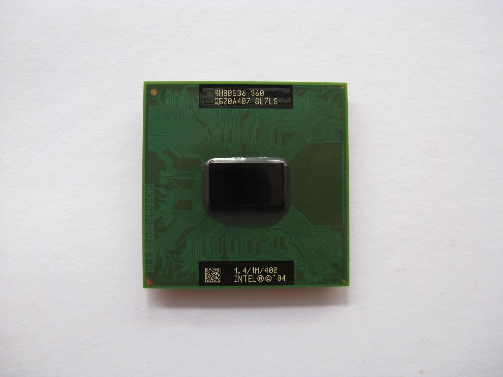 Intel Celeron M 360, 1.4GHz