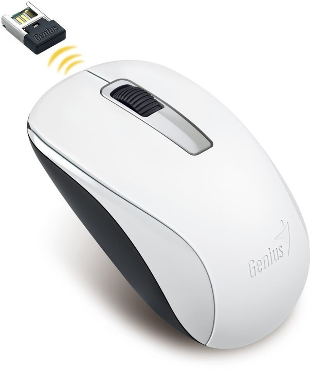 GENIUS myš NX-7005/ 1200 dpi/ bezdrátová/ bílá 31030127102