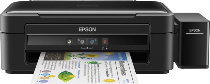 EPSON tiskárna ink L382 MFZ, CIS, A4, 33ppm, 4ink, USB,TANK SYSTEM, MULTIFUNKCE C11CF43402