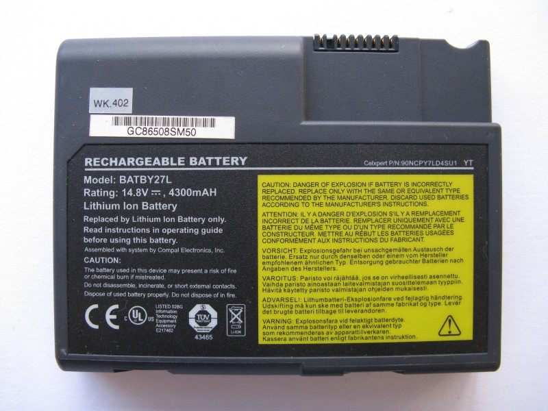 Baterie pro Fujitsu Siemens Amilo Pro V1000