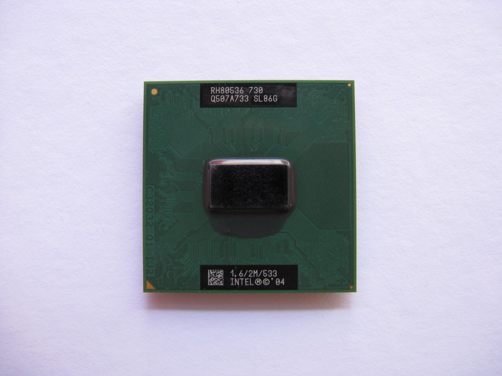 Intel Pentium M 730, 1.6GHz