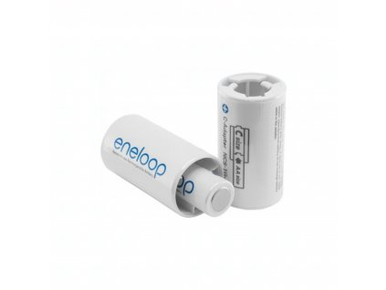 Adapter Panasonic Eneloop BQ-BS2E/2E, C size, blistr 2 ks