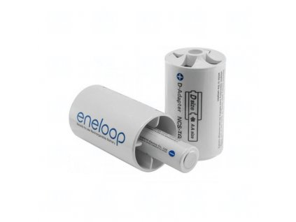 Adapter Panasonic Eneloop BQ-BS1E/2E, D size, blistr 2 ks