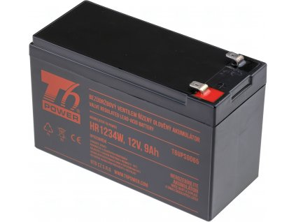 Akumulátor T6 Power HR1234W, 12V, 9Ah