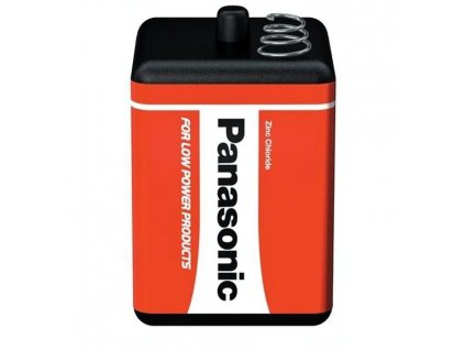 Baterie Panasonic 4R25, 4R25X, V430, 4AS2, PJ996, EN-529, MN/PC908, Zinc Chloride, 6V, blistr 1 ks