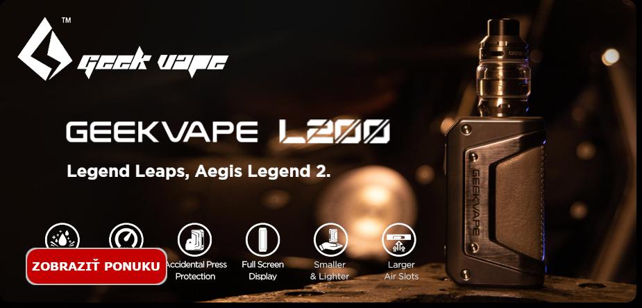 Novinka - zostava Geekvape Aegis Legend 2