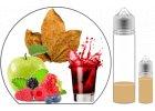 Arómy a longfill príchute pre e-cigarety podľa typu chuti