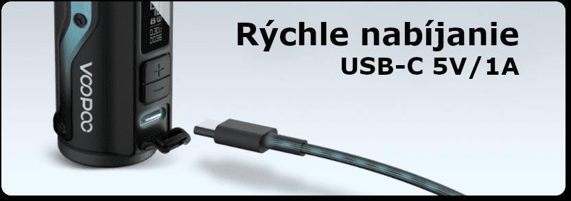 Nabíjanie batérie USB-C pre Argus 1500mAh - banner