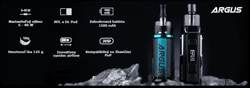 E-cigareta typu Pod Mód Voopoo Argus 40 W - banner