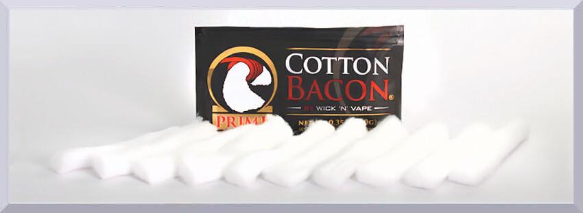 bavlna pre e-cigarety Cotton Bacon Prime - banner