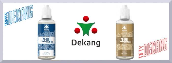 Bázy Dekang Fifty bez obsahu nikotínu - web banner