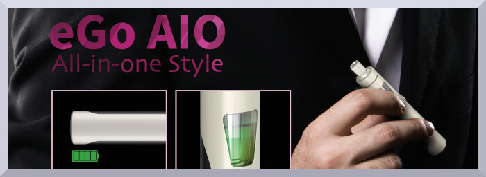 elektronická cigareta Joyetech eGo AIO Friendly v ruke