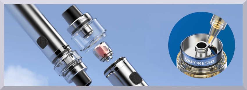 Žhaviaci systér e-cigarety Sky Solo Plus a plnenie - banner