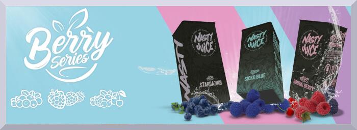 Longfill príchute Nasty Juice, séria Berry - web banner