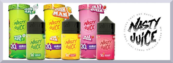 Longfill príchute Nasty Juice, séria Yummy - web banner