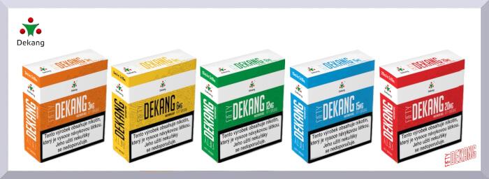 Nikotínové bázy Dekang Fifty - web banner