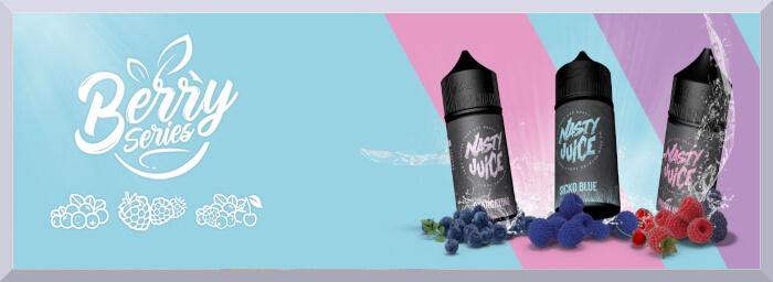 Koncentrované príchute Nasty Juice, séria Berry