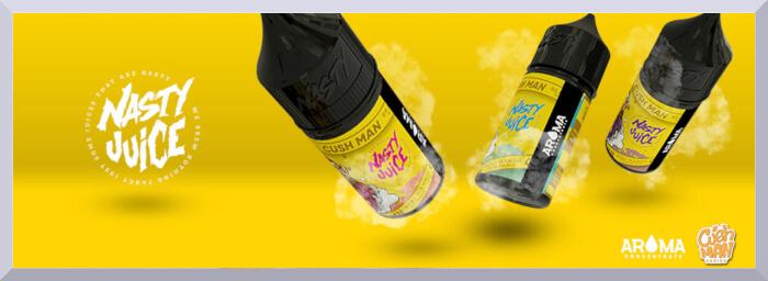 Koncentrované príchute nasty juice séria cushman banner
