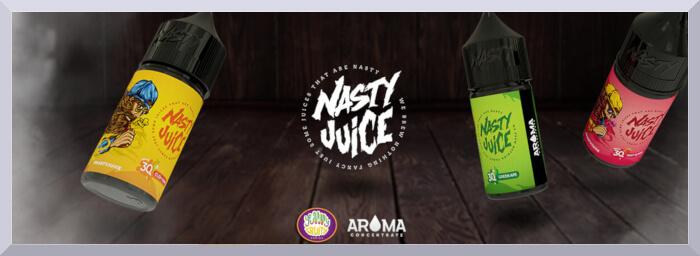Koncentrovane prichute Nasty Juice, seria Yummy