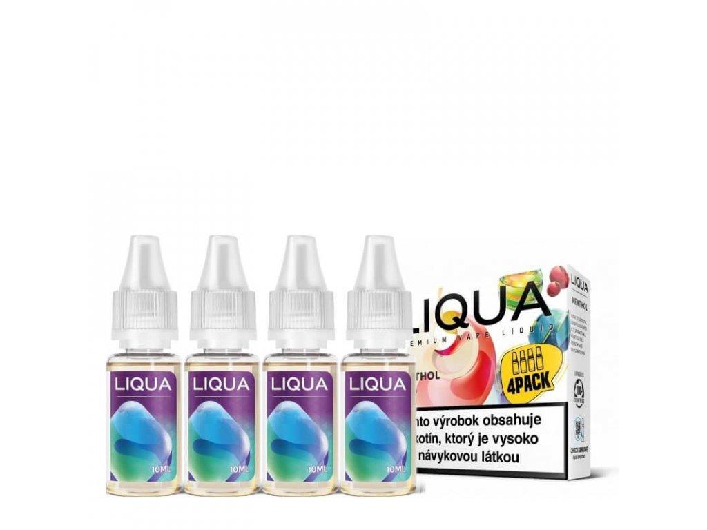 liqua menthol 4pack 4x10ml