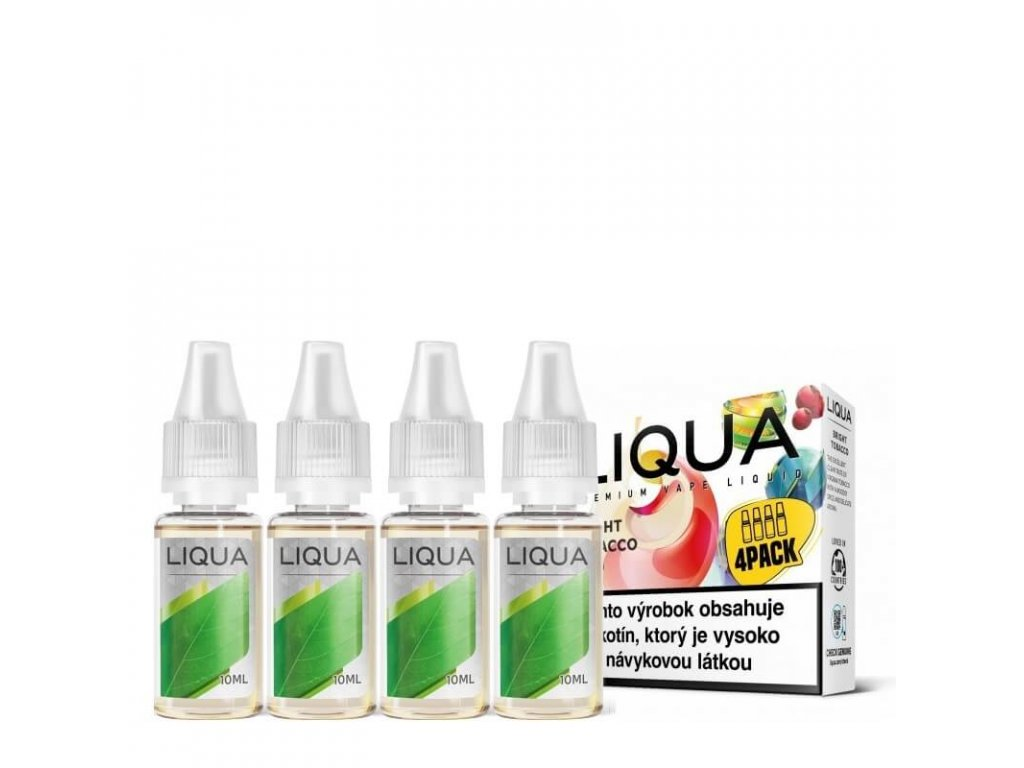 liqua bright tobacco 4pack 4x10ml