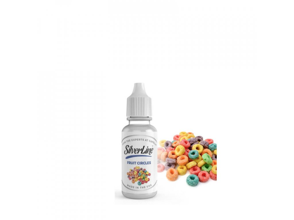 prichut e cigarety 13 ml silverline fruit circles