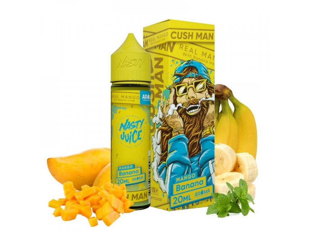 20 ml longfill prichut nasty juice cush mango banana