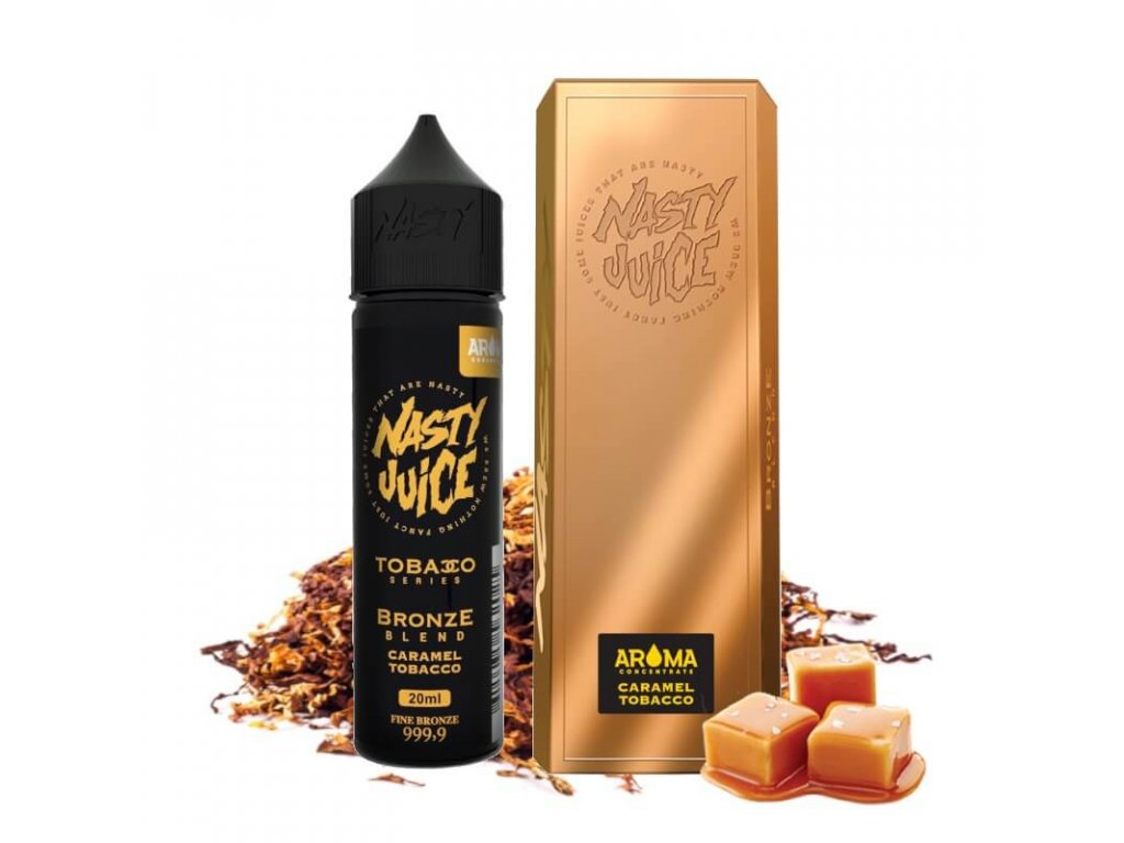 20 ml longfill prichut nasty juice bronze blend caramel
