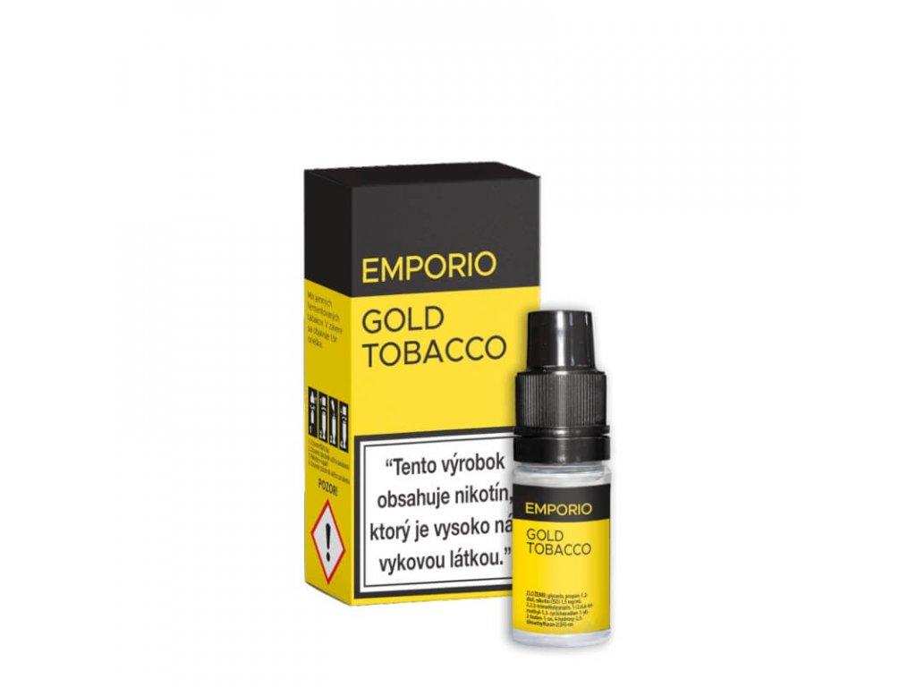 e liquid emporio gold tobacco 10 ml