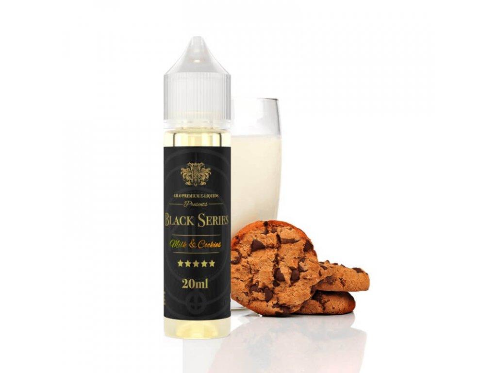 kilo black milk cookies longfill 20ml