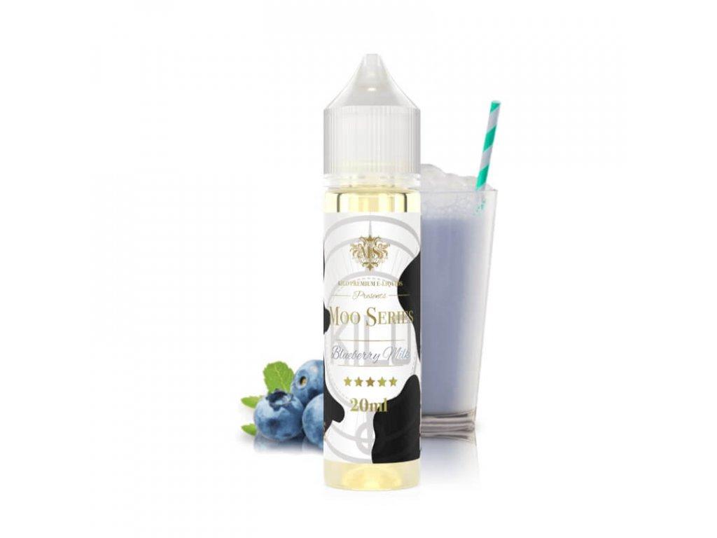 kilo moo blueberry milk longfill 20ml