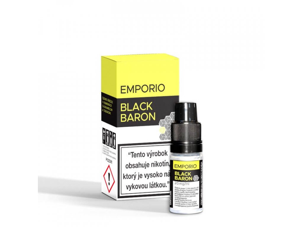 e liquid emporio black baron salt 10 ml