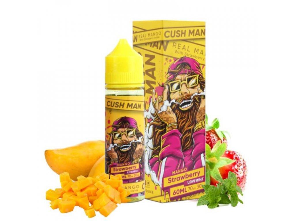 shortfill nasty juice cush strawberry 50 ml eliquid