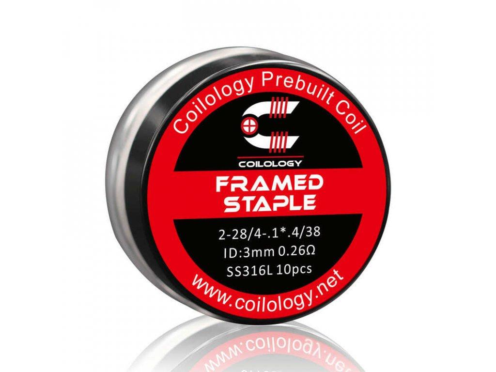 coilology framed staple ss316 spiralky 10 ks