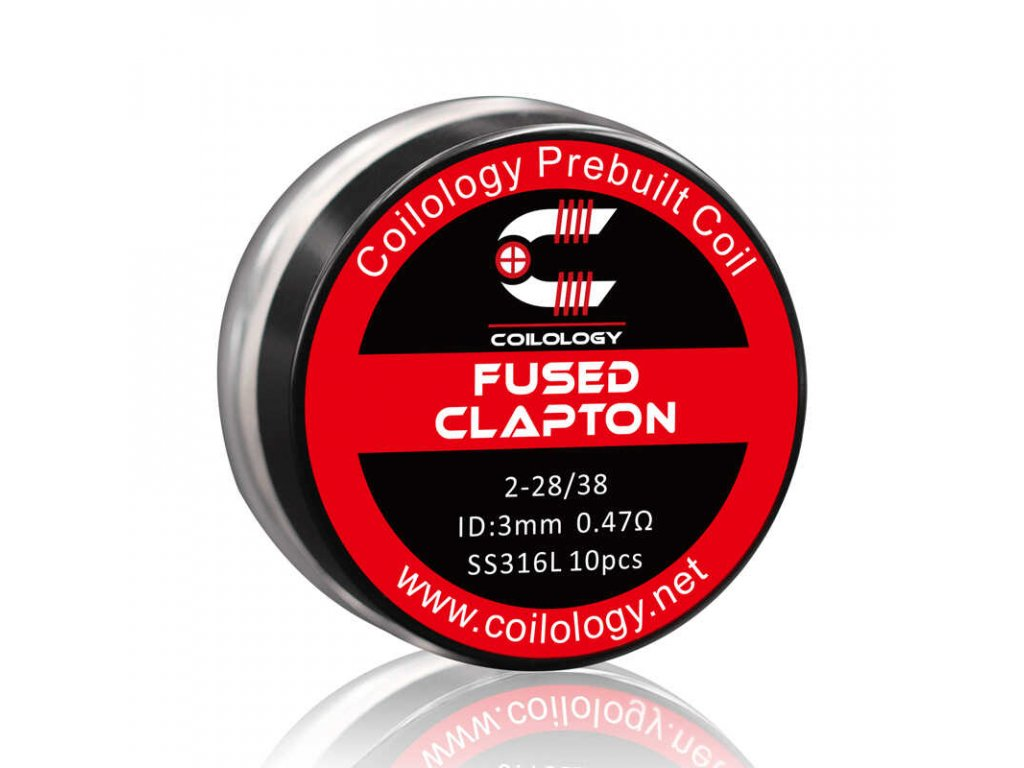 coilology fused clapton ss316 spiralky 10 ks