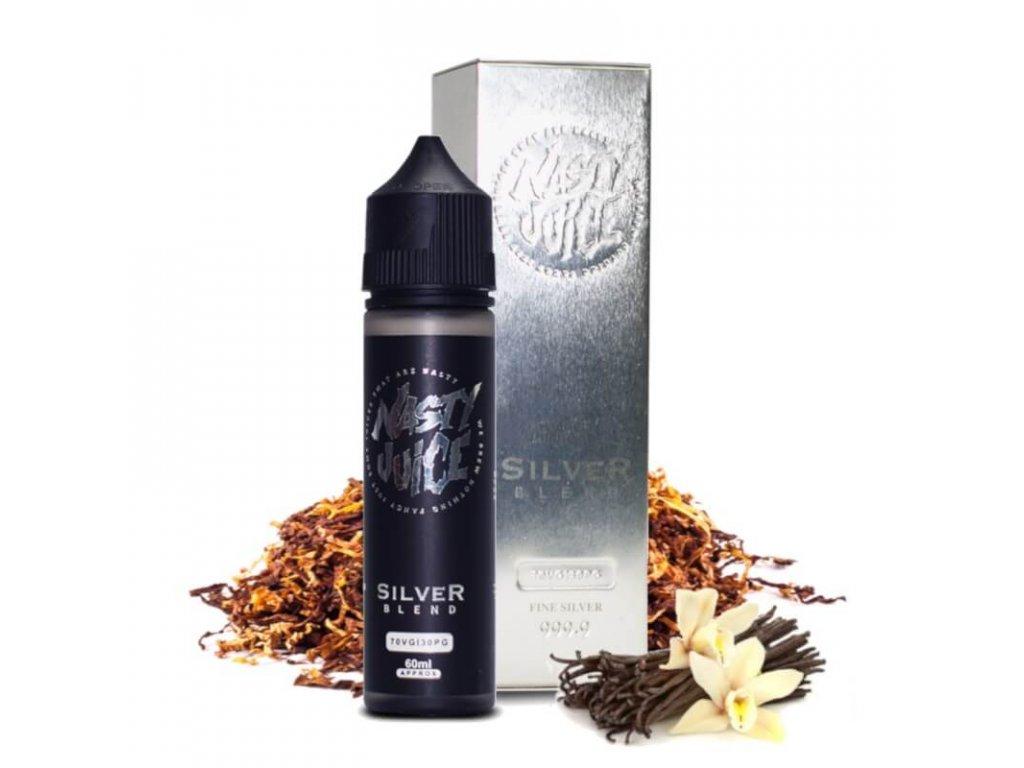 shortfill nasty juice tobacco silver 50 ml eliquid